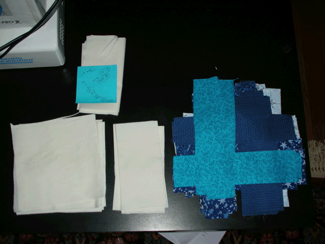 Cut fabric for Simple Math