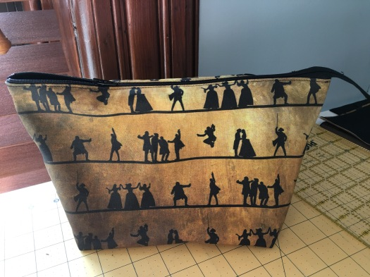 Hamilton zippered bag